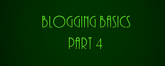 Off Page Seo – Blogging Basics Part 4